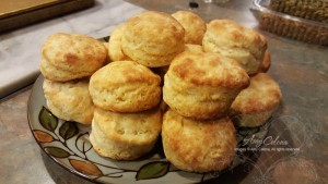 Mouth watering buttermilk biscuits!