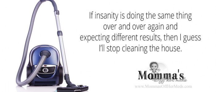 Definition of insanity...