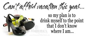 Read more about the article Vacation plans this year…