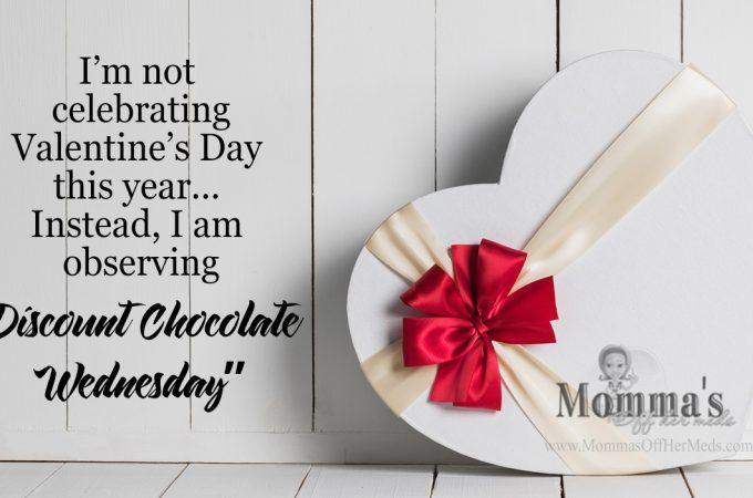 I'm not celebrating Valentine's Day this year…