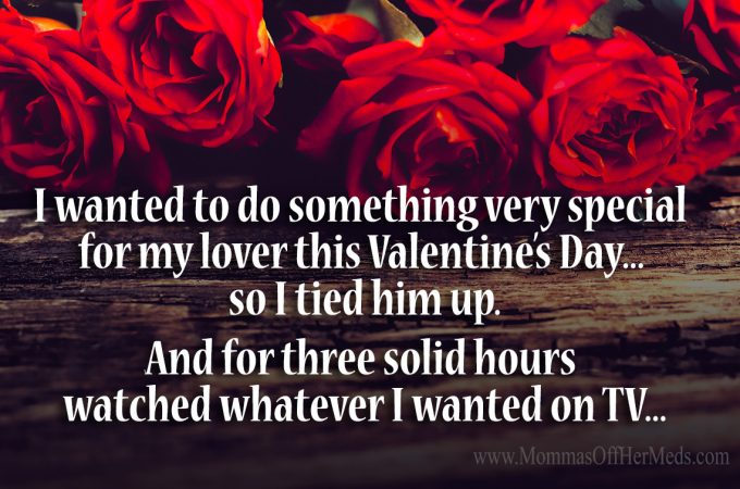 A little something special for Valentine's Day