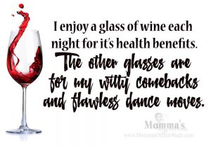 Health benefits of wine…