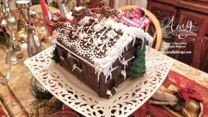 Hand-Molded Chocolate Houses for Christmas