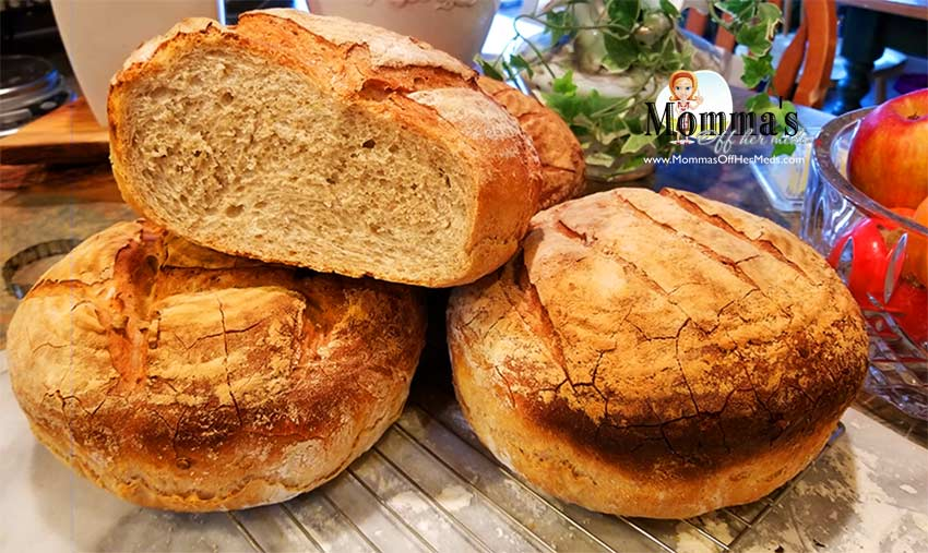 Rustic Italian Hearth Bread